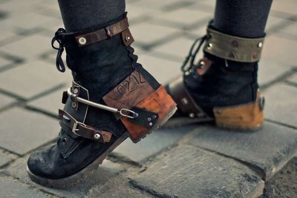 shoes steampunk combat boots black combat boots combat shoes combat Black studded combat boots combat boots badass soft grunge cool leather jacket