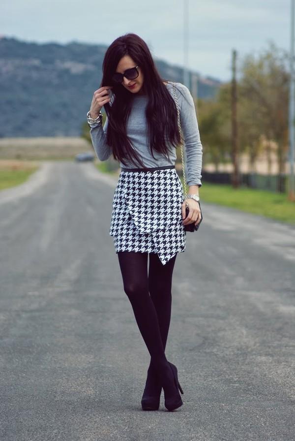my name is maria skirt shirt bag shoes