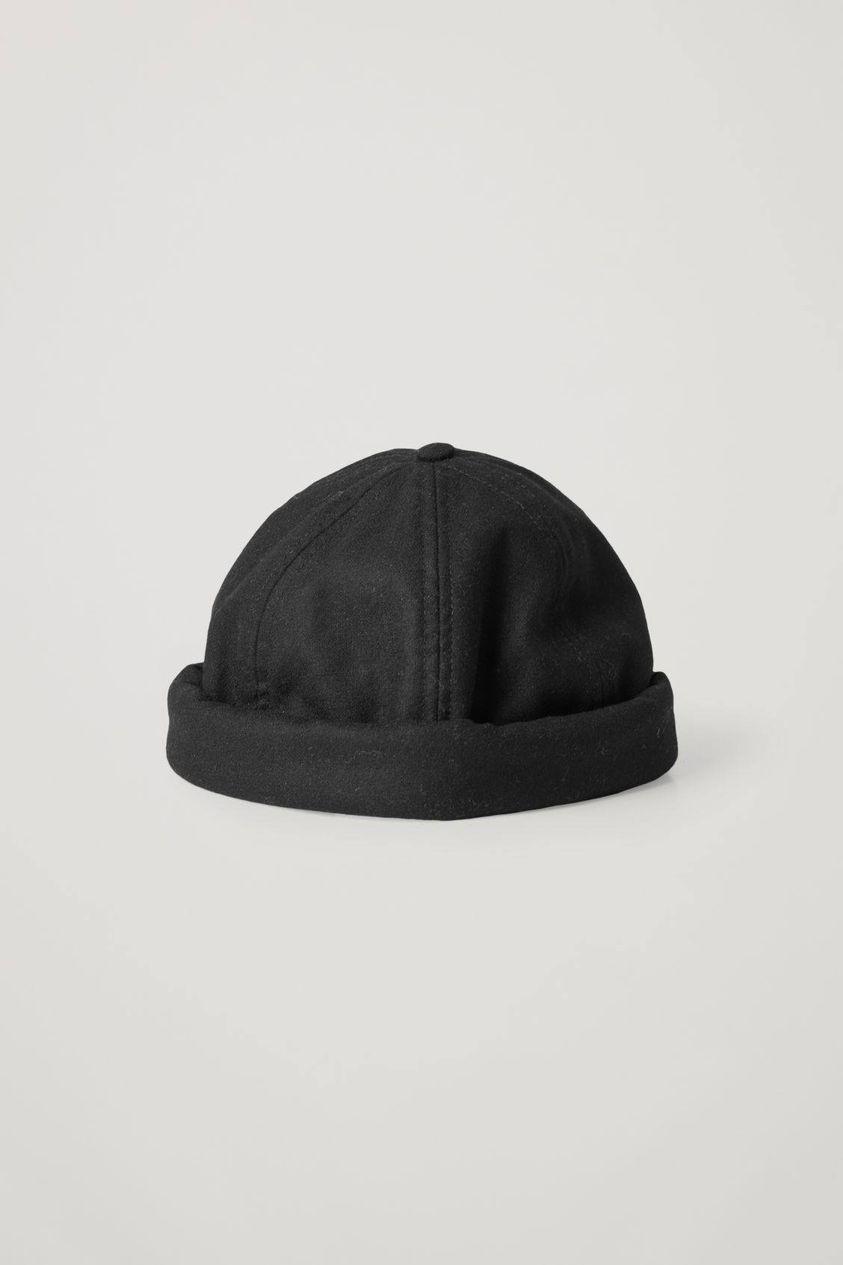 WOOL FELT SKULL CAP