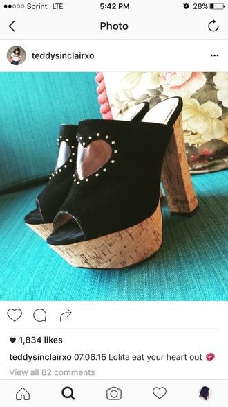 shoes vintage high heels clogs pumps