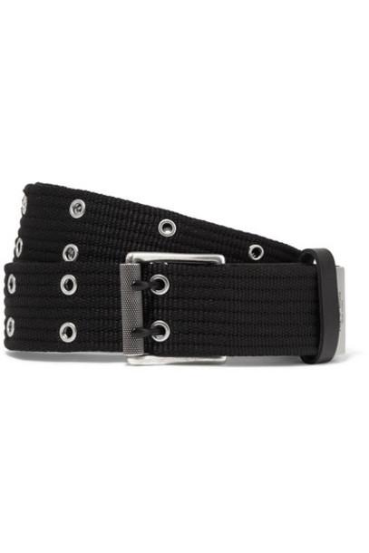 Rag & Bone belt leather black