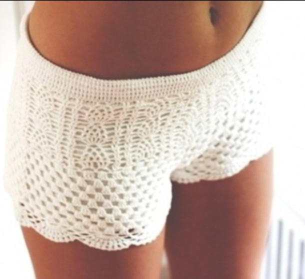 shorts crochet crochet shorts