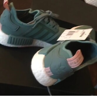 shoes green adidas