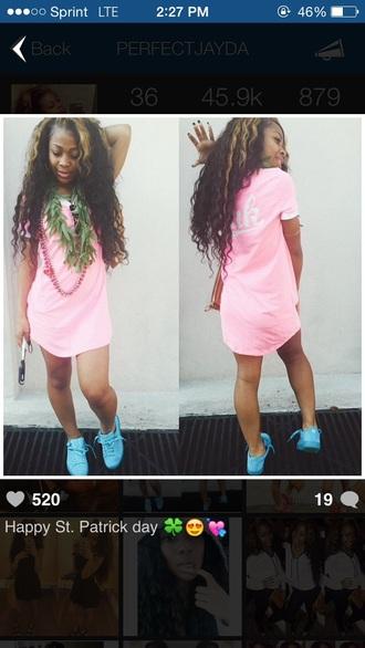 shirt amourjayda pink victorias secret top shoes urban urban pastel pink