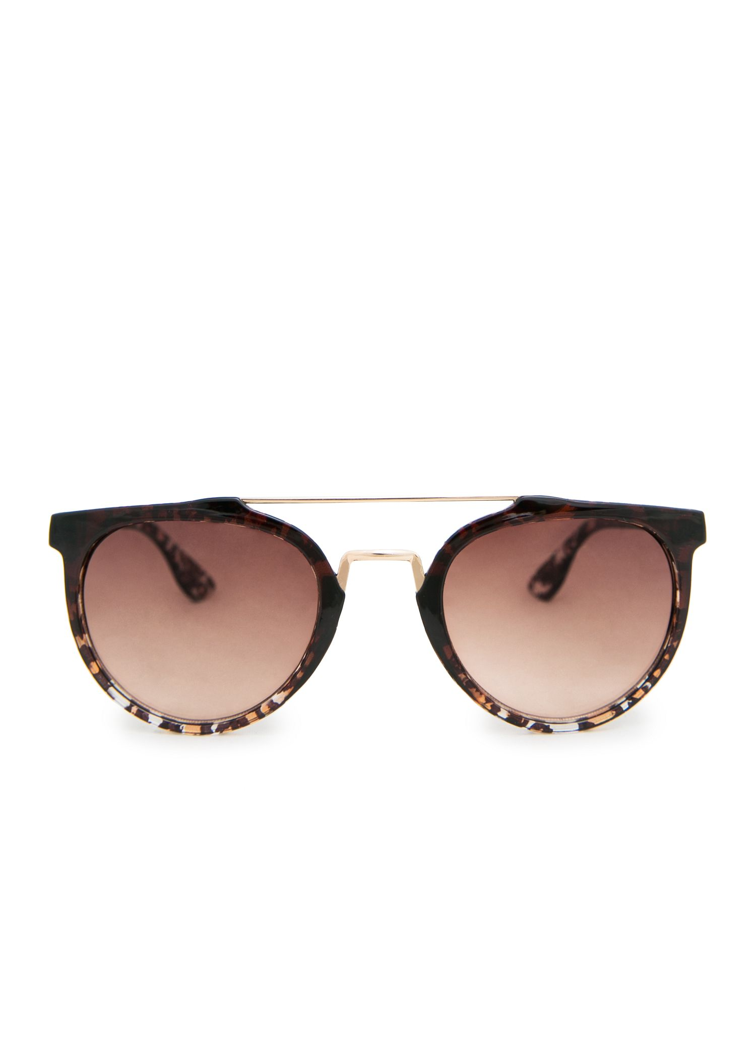 Metal appliqué sunglasses - Women | MANGO