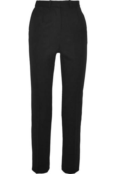Alexander Mcqueen pants black wool
