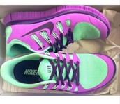 shoes,t?rkis,nike id,nike running shoes,pink,sportswear,fitness,nike,nike free run,purple,aqua,athletic,runningshoes,sneakers,tennishoes,joggers,nike sneakers