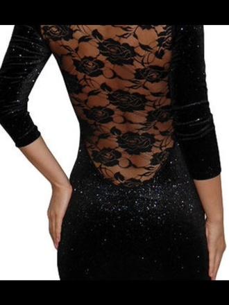 dress floral dress black dress sparkly dress cute dress