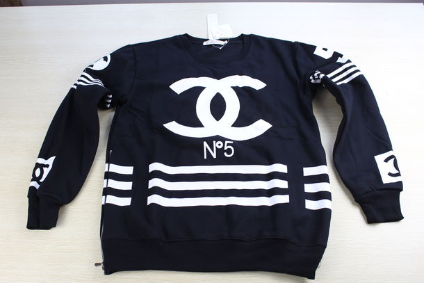Sweater: men sweashirts, women sweatshirt, sweats, chanel, chanel ...