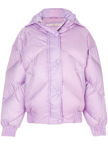 Ienki Ienki jacket puffer jacket women spandex cotton purple pink