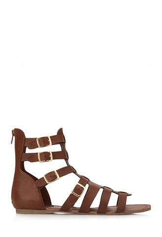 Classic gladiator sandals