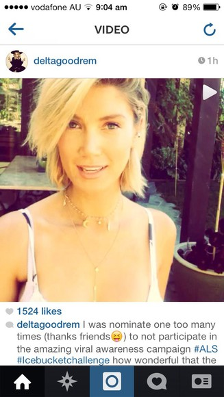 jewels necklace charm delta moon short instagram