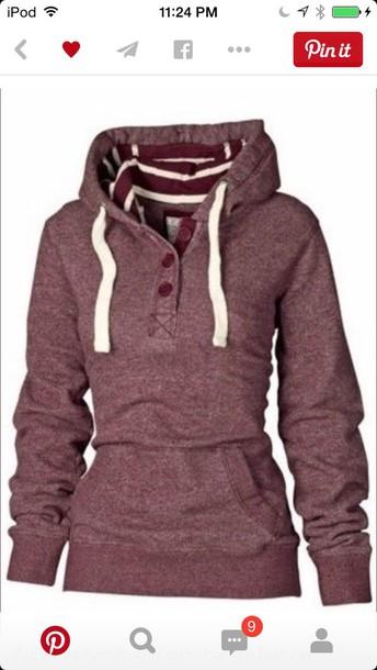 jacket redish cozy hoodie