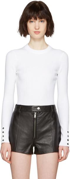 3.1 Phillip Lim pullover white sweater