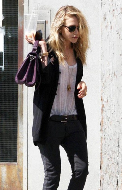 olsen bag jacket mary kate olsen shirt olsen sisters jeans
