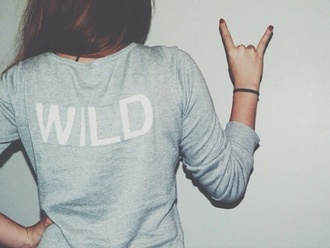 sweater jacket wild shirt grey blouse grey sweater brunette sweatshirt