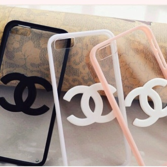 jewels phone cover chanel amazing cute white peach black iphone perfect designer fashion iphone 5 case iphone cover chanel inspired chanel phone case