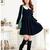 Cheap japanese style students collar big size dress k1012725 RoyalBlue Sale