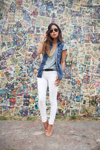 song of style shirt jeans shoes jewels