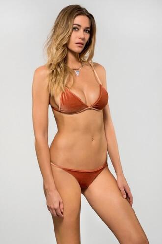 swimwear bikini bottoms dbrie swim orange skimpy thong bikiniluxe