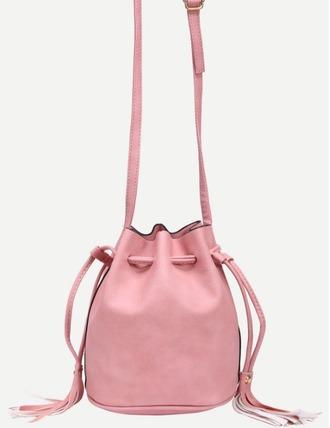 bag girl girly girly wishlist pink pink bag bucket bag