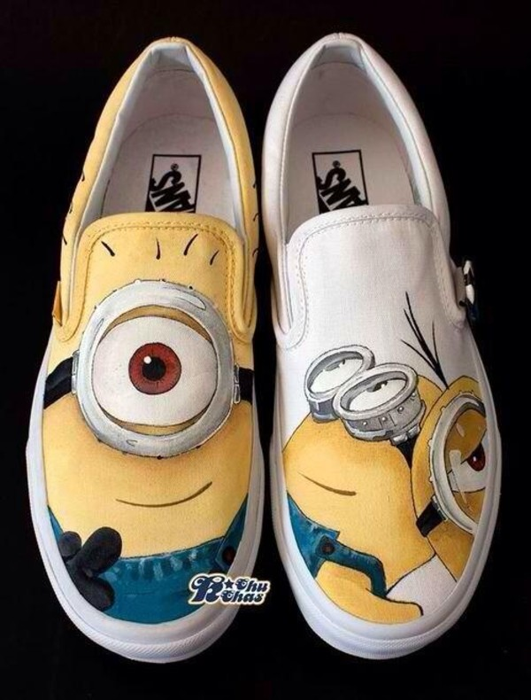 Minion Tennis Shoes Size