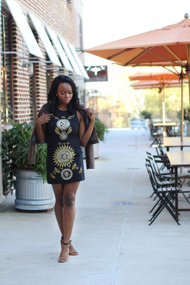 tribal pattern blogger millennielle jacket