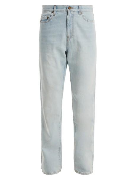 Saint Laurent jeans light blue light blue