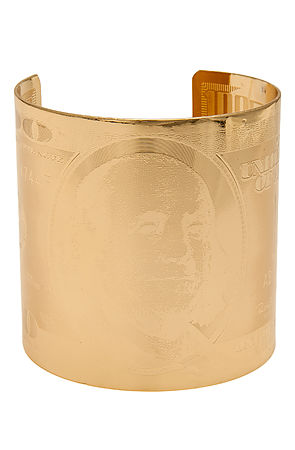 *MKL Accessories Cuff The Dollar Bill in Gold -  Karmaloop.com