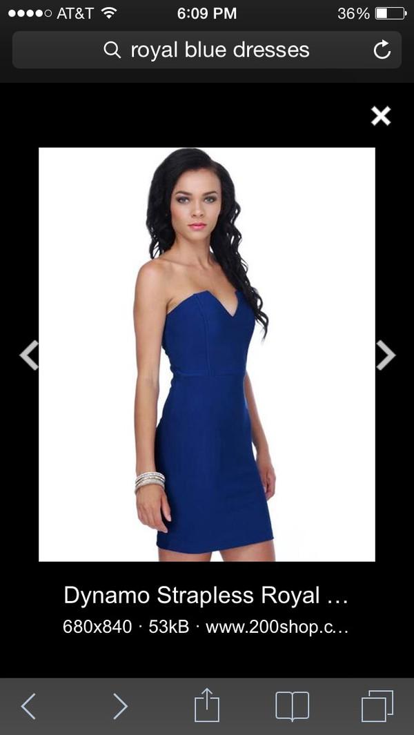 royal blue dress royal blue homecoming dress