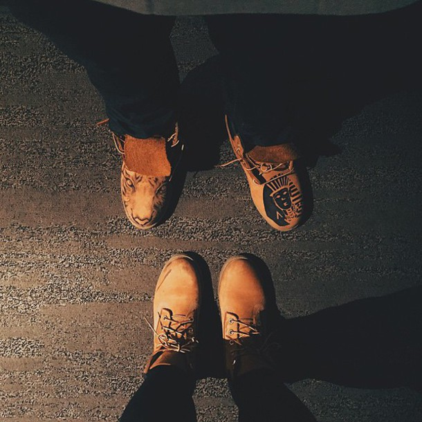 shoes brown leather boots timberland urban