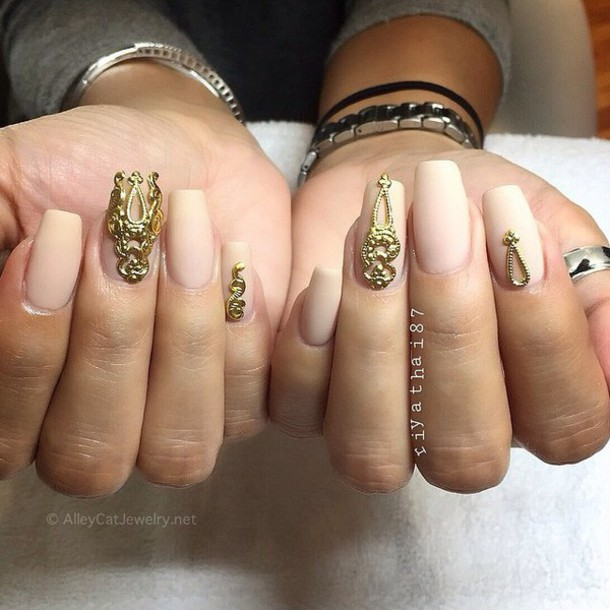 Nail Accessories Gold Nails Nail Art Designer Nails Nail
