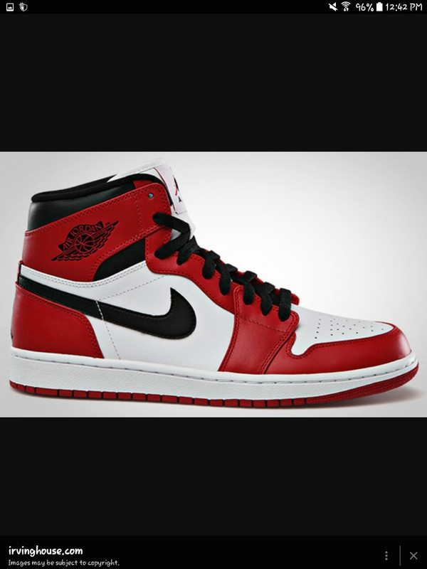 shoes air jordan air force 1's red black white high tops