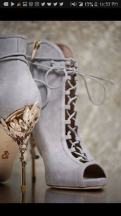 shoes,high heels boots,lace up boots,peep toe heels,grey,heels,high heels,boots,blue,winter outfits,fall outfits,autumn/winter,cute,sexy,suede,gold,silver,grey boots,ankle boots
