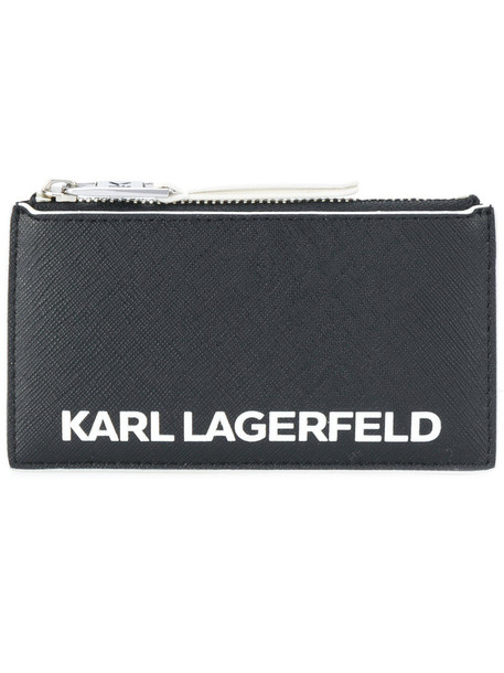 karl lagerfeld women purse print black bag