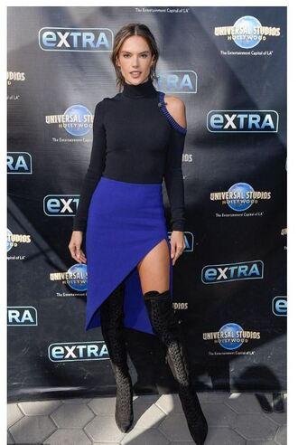 shoes asymmetrical asymmetrical skirt top alessandra ambrosio