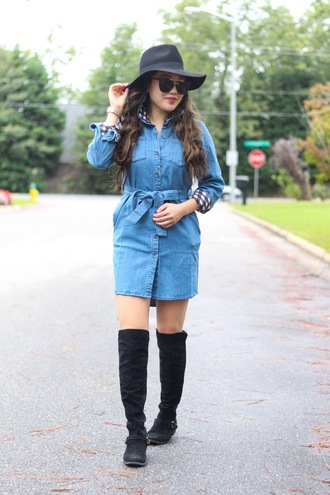 gracefullee made blogger top dress sunglasses shoes hat jewels make-up