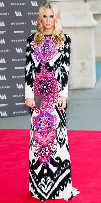 maxi dress dress poppy delevigne