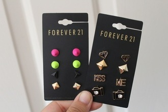 jewels earings forever 21
