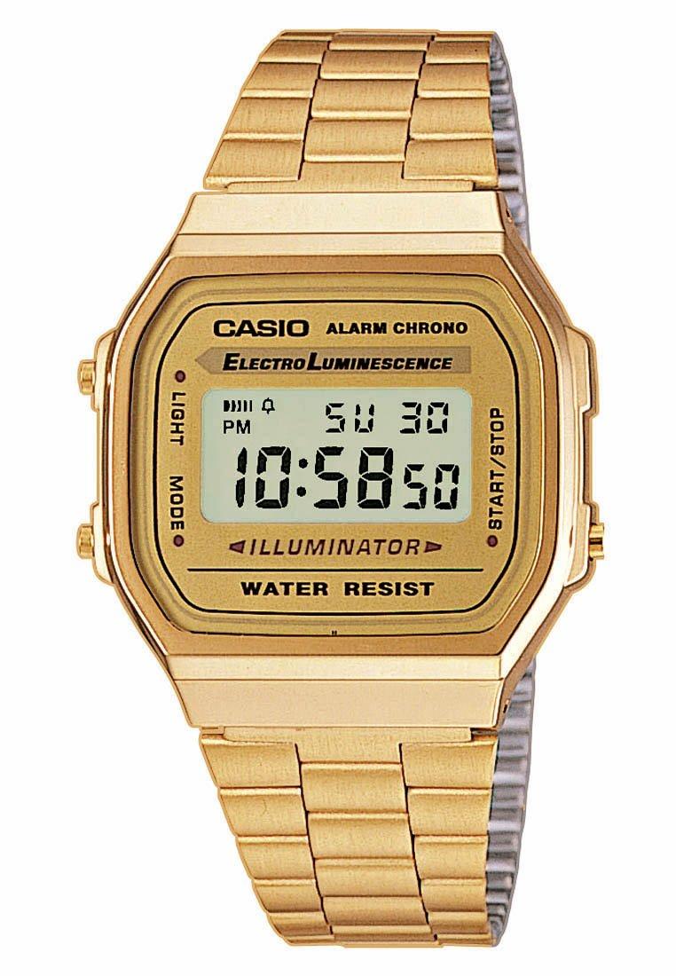 Casio A168WG-9EF - Digitaluhr - goldfarben - Zalando.de