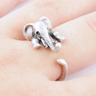 nail accessories elephant rings silver rings and tings