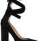 Valentino - valentino garavani pumps - women - suede/leather - 36, black, suede/leather