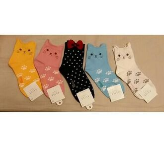 socks cats cat ears colorful lawsuit neko neko