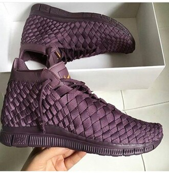 shoes jordans purple quilted crochet tennis shoes royalpurple burgundy nike sneakers weaved burgundy sneakers sneakers nike nike shoes