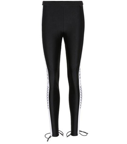 Fenty by Rihanna Lace-up leggings in black