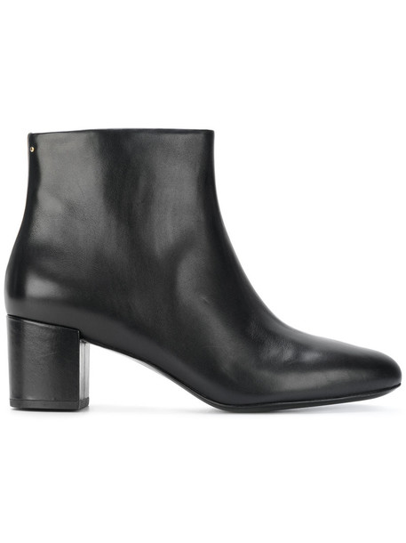 Stella Luna women ankle boots leather black shoes