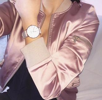jacket blush pink satin shiny bomber jacket shiny bomber jacket satin bomber pink bomber jacket