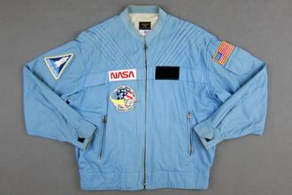 jacket nasa blue space