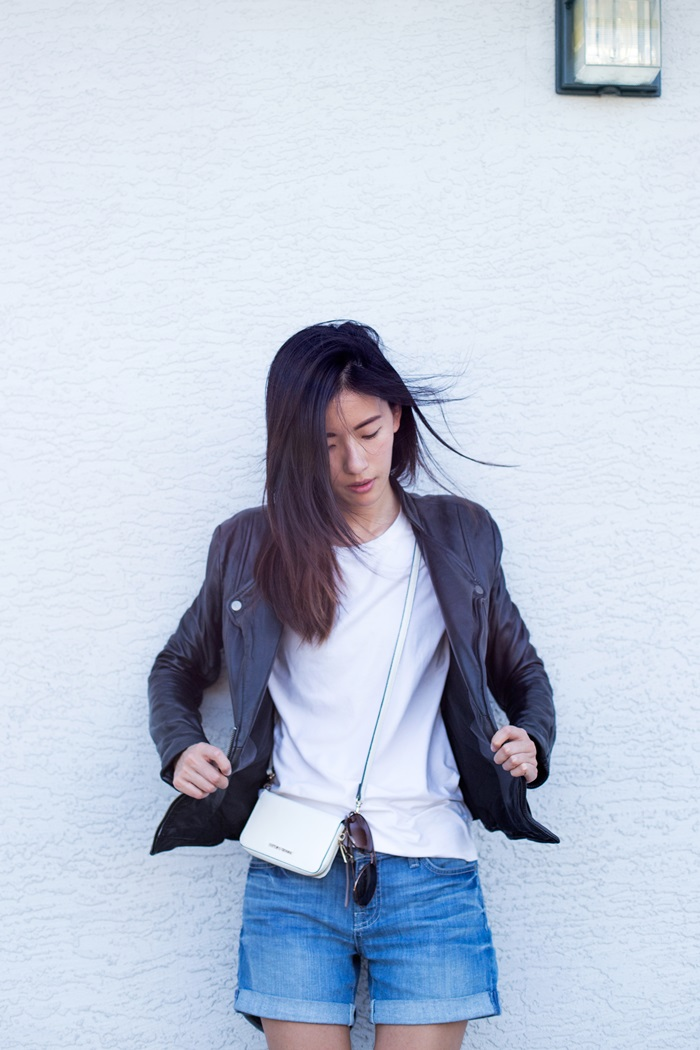 Von Vogue: Giveaway: Leather Jacket | A Vancouver Fashion Blog by Claire Liu
