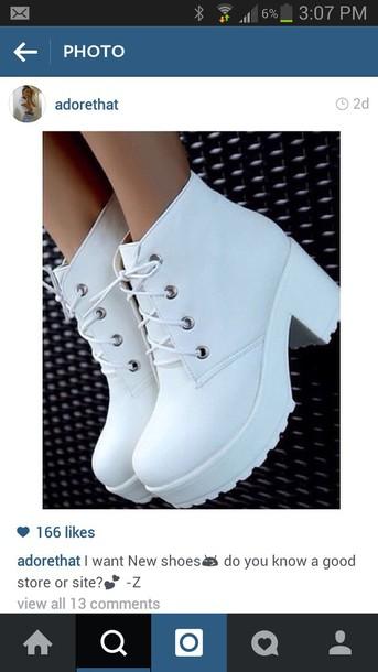 shoes white shoes platform boots platform shoes platform lace up boots boho